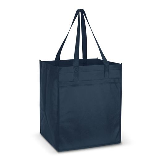 Mega Shopper Tote Bags Navy