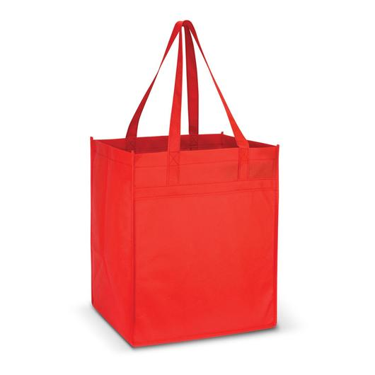 Mega Shopper Tote Bags Red
