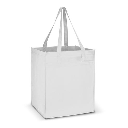 Mega Shopper Tote Bags White