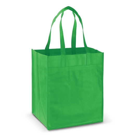 Mega Shopper Tote Bright Green