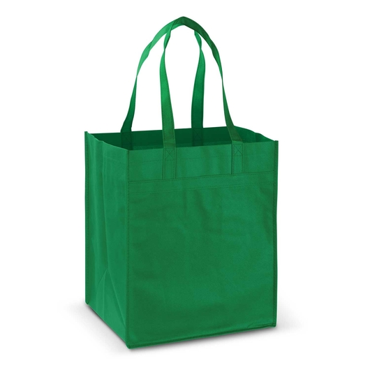 Mega Shopper Tote Kelly Green