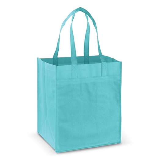Mega Shopper Tote Light Blue