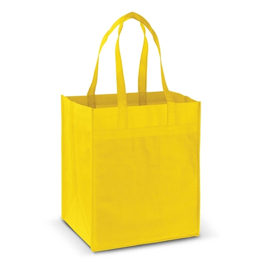 Mega Shopper Tote Yellow