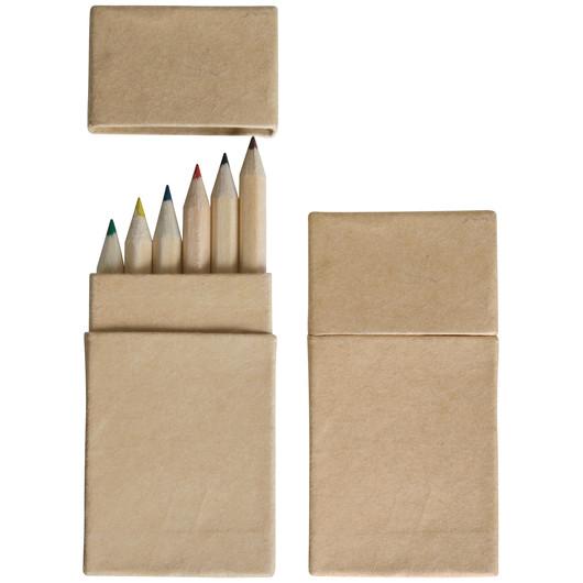 Mini Coloured Pencil Boxes