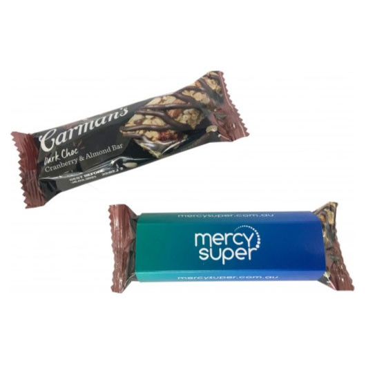 Muesli Bar With Sleeves