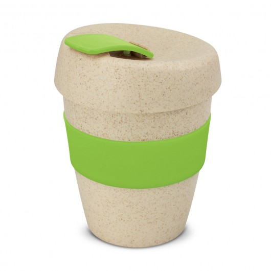 Bright Green Natural Forrest Eco Cups