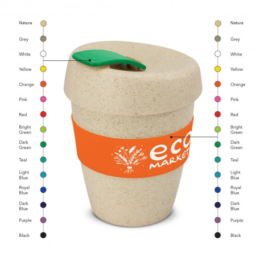 Colour Mix Natural Forrest Eco Cups