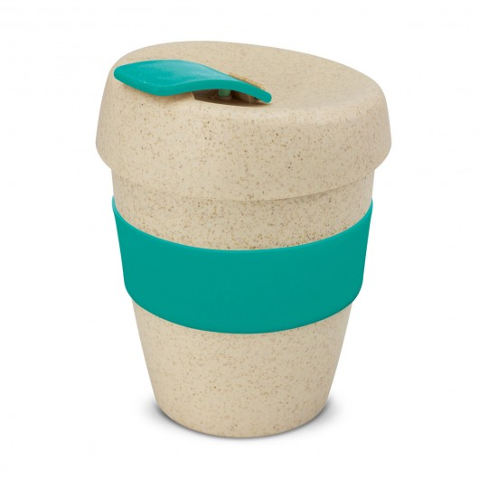Teal Natural Forrest Eco Cups