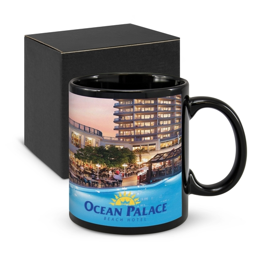 Parkville Black Coffee Mugs