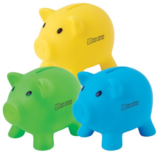 Pee Wee Pig Coin Banks