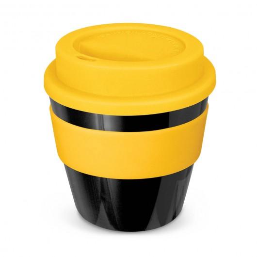 Black Yellow Petite Kooyong Cups
