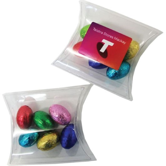 Pillow Pack Mini Solid Easter Eggs (x6)
