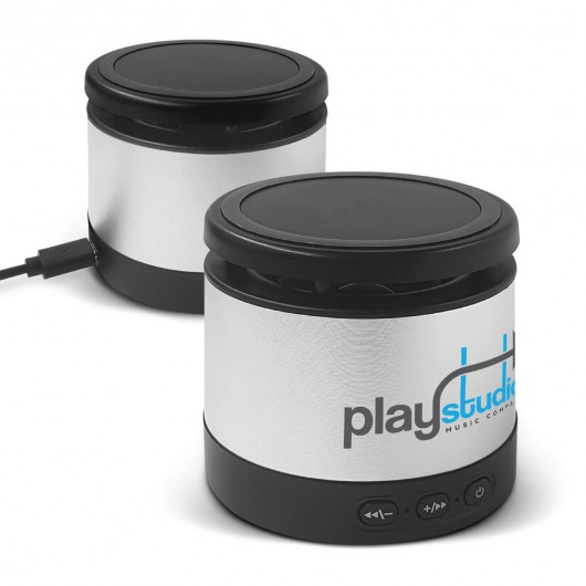 Pluto Wireless Charging Speakers logo