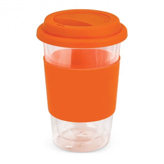 Orange Premium Mosman Glass Cups