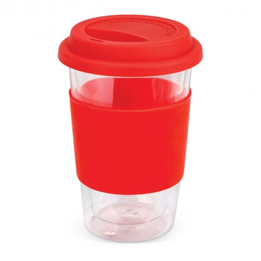 Red Premium Mosman Glass Cups