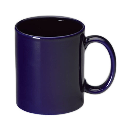 Promotional Coffee Mugs Cobalt Blue
