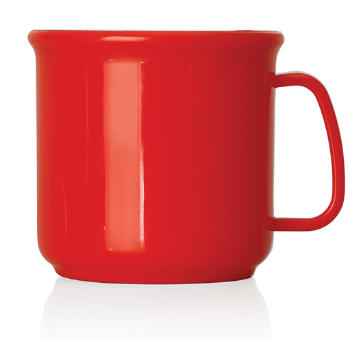 Promotional Plastic Mugs Red