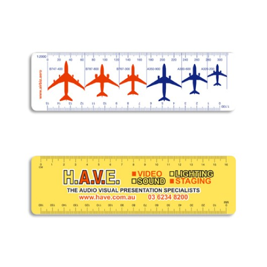 Flexi Scale Rulers Printed