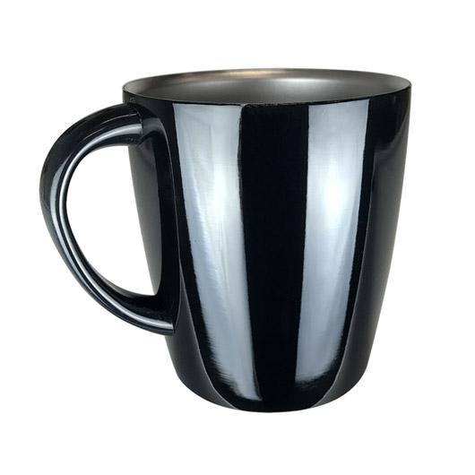 Black Queenstown Mugs
