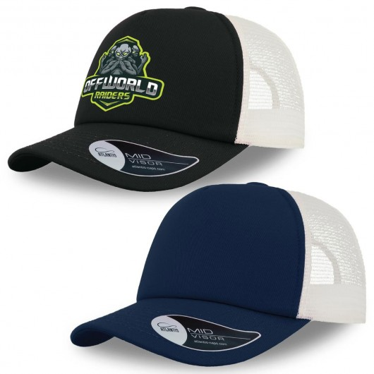 Record Trucker Caps Branded