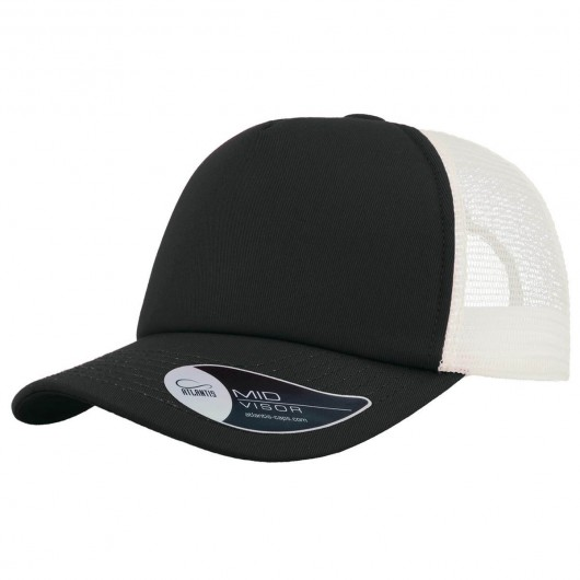 Black White Record Trucker Caps