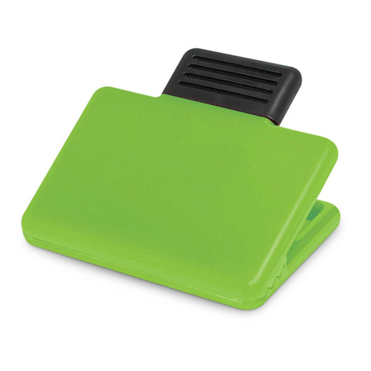 Rectangular Magnetic Clips Bright Green