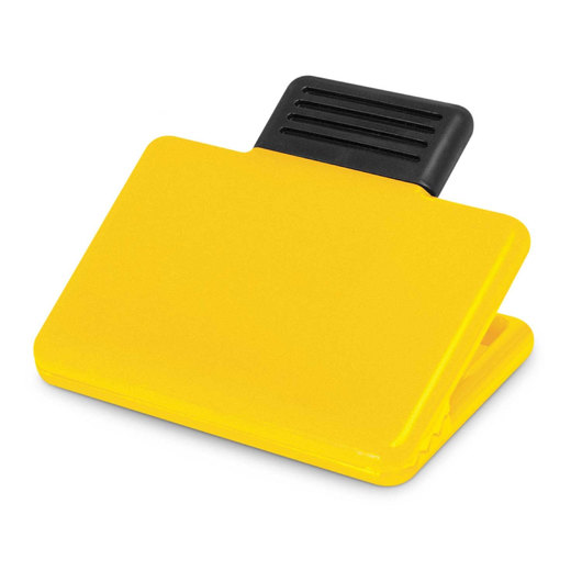 Rectangular Magnetic Clips Yellow