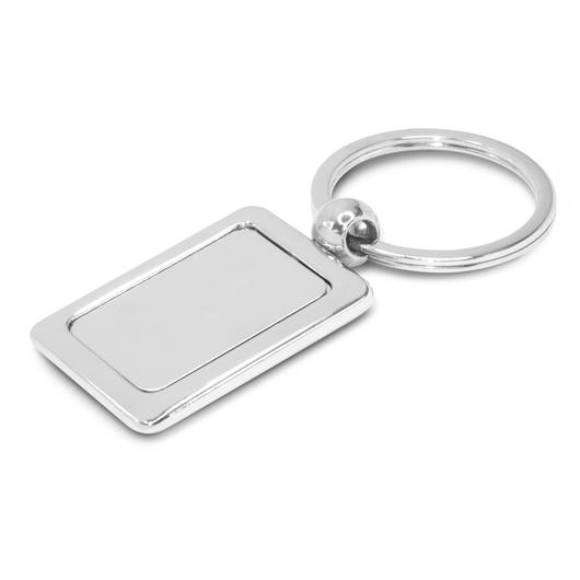 Rectangular Metal Keyrings