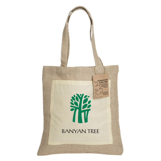 Reforest Jute Tote Bags