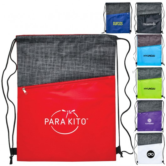 Promotional Rio Crosshatch Backsacks