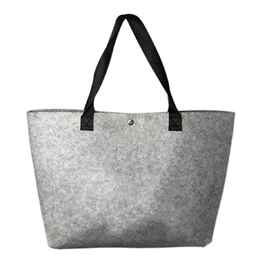 Undecorated Felt Shopper Bags