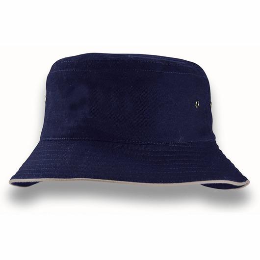 Sandwich Brim Bucket Hats