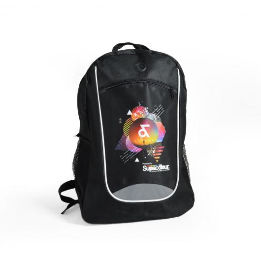 Black Reflex Backpacks