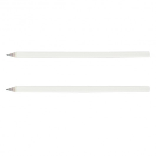 White Eco Sharpened Pencils
