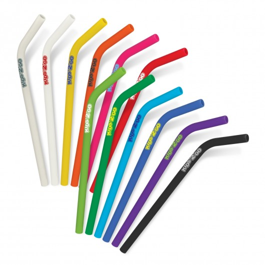 Printed Silicone Drinking Straws