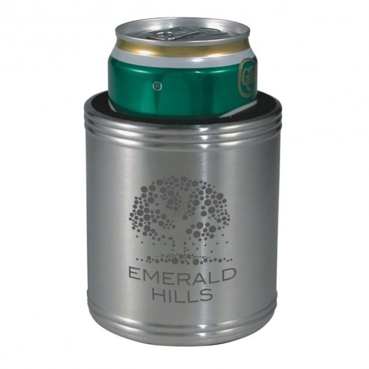 Engraved Stainless Steel Stubby Coolers