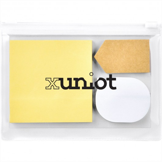 Sticky Notes Pouches white