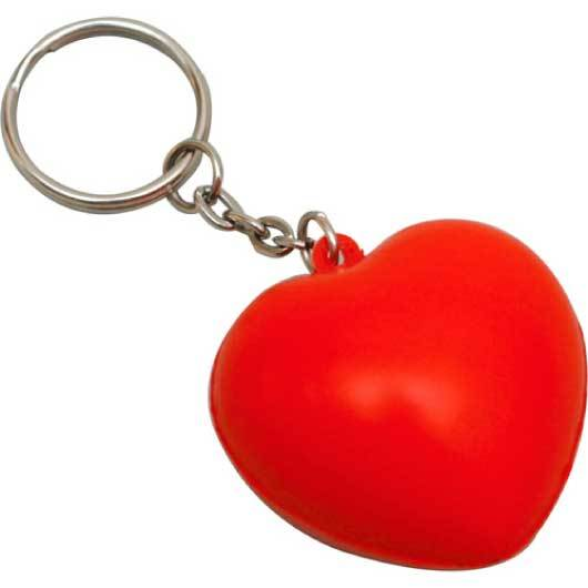 Promotional Stress heart Keyrings