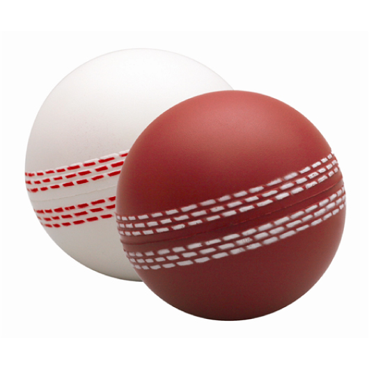 Printed Cricket Ball Stress Balls