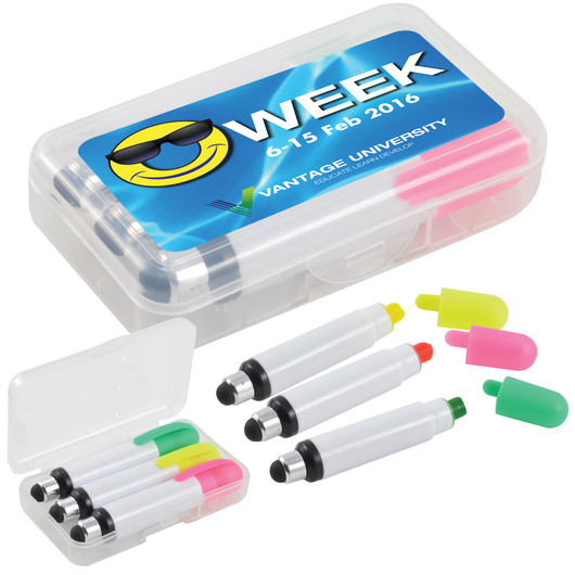 Stylus Wax Highlighter Cases