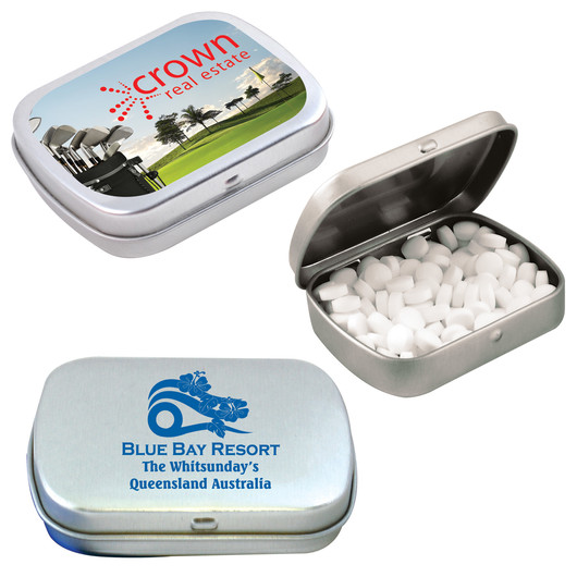 Sugar Free Mints - Silver Tin