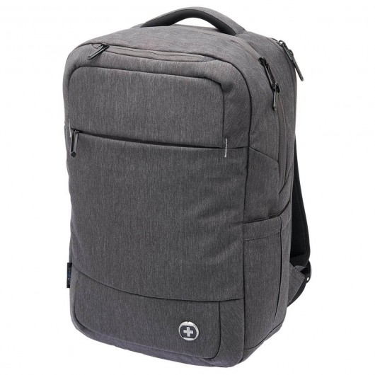 Charcoal Heather Swissdigital Calibre Backpacks
