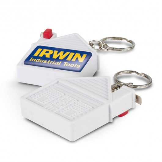 Promotional Tape Measure Home Keyrings