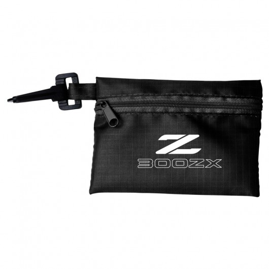 Black Tech Kit Pouches