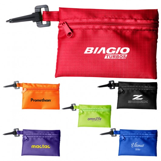 Promotional Tech Kit Pouches