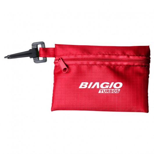 Red Black Tech Kit Pouches