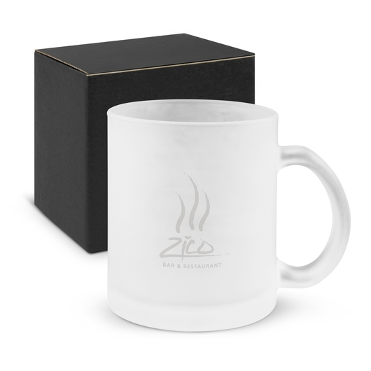 Translucent Glass Coffee Mugs