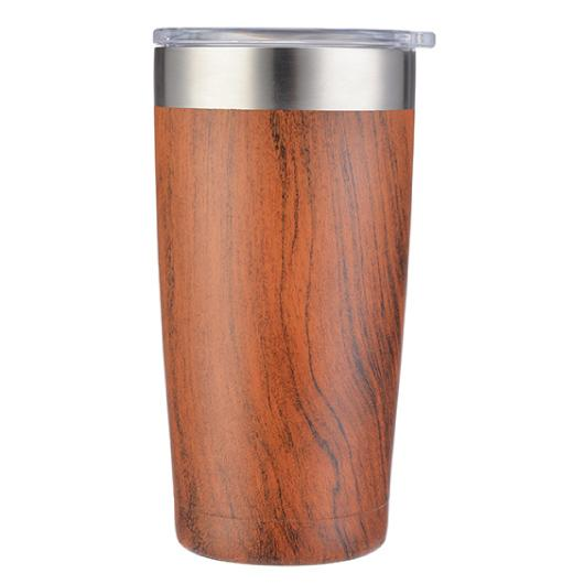 Vacuume Travel Mugs Wood Alt