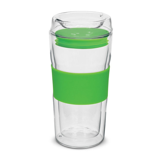 Vaucluse Glass Eco Cups Bright Green