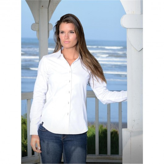 Womens Cannon Twill Shirts Model